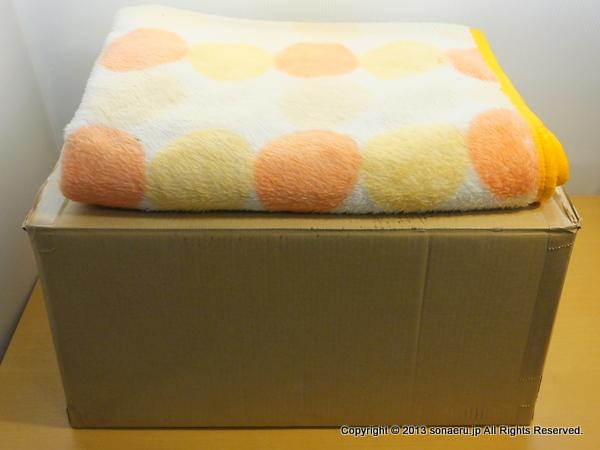 段ボールで作る小型簡易ベッドの材料と道具
